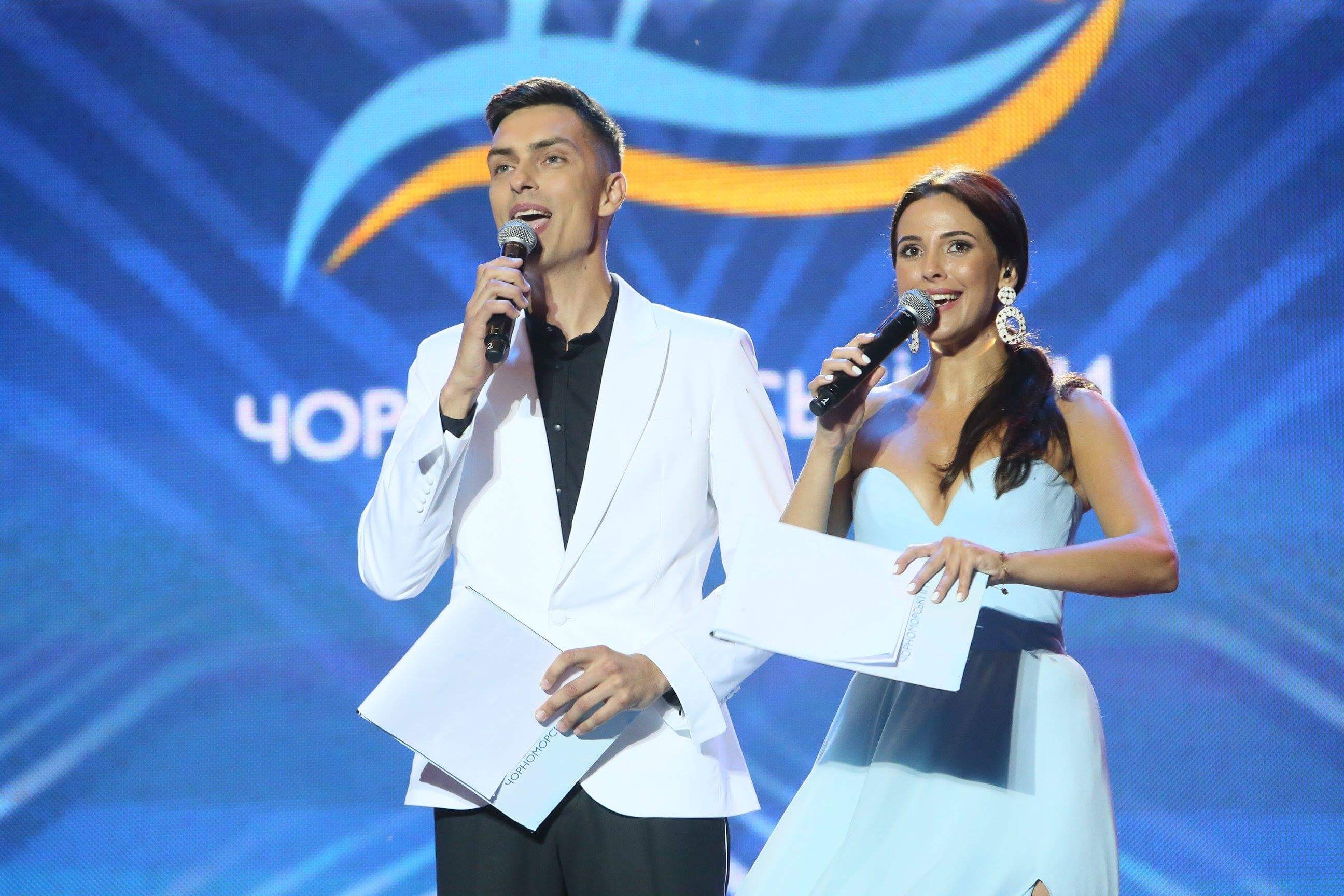Ведущие Черноморских Игр 2018