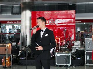 Андрей Черновол начал сотрудничество с брендом КIA