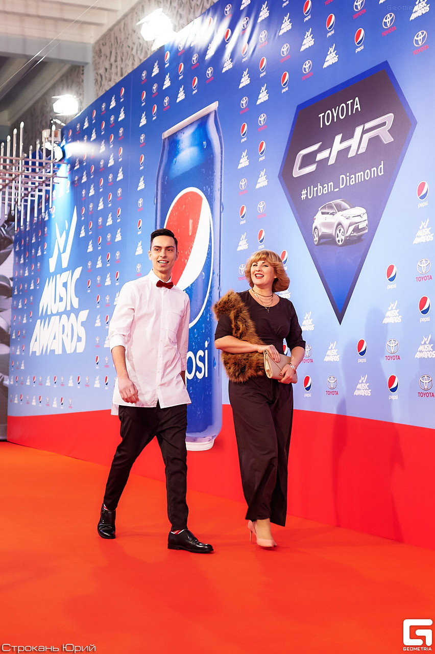 Андрей Черновол на M1 Music Awards