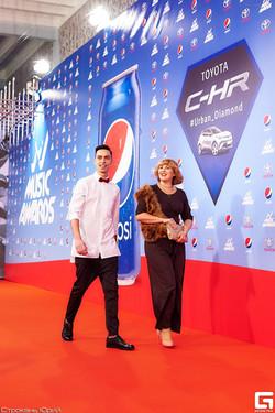 Андрей Черновол на M1 Music Awards
