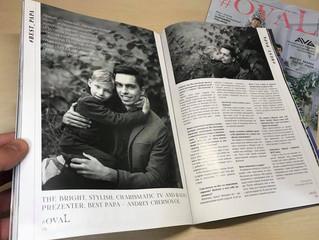 Андрей Черновол рассказал о своем сыне и получил звание BEST PAPA