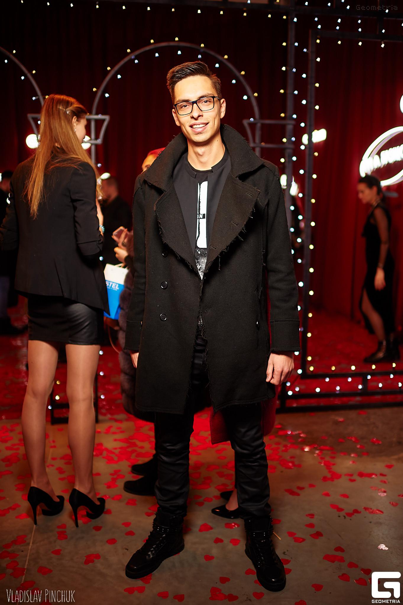 Ведущий Андрей Черновол Fashion Week