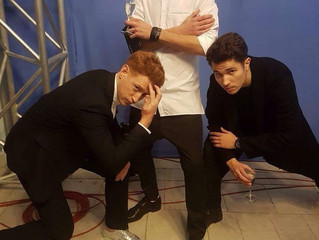 """Новая группа """"Rozetki"""" выступила в кулуарах M1 Music Awards"""