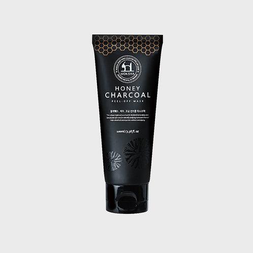 모크샤 허니 차콜 필오프 마스크 / Honey charcoal peel off mask 100ml