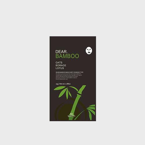 모크샤 디어.대나무(뱀부) 마스크 / Dear.Bamboo facial sheet mask 25g