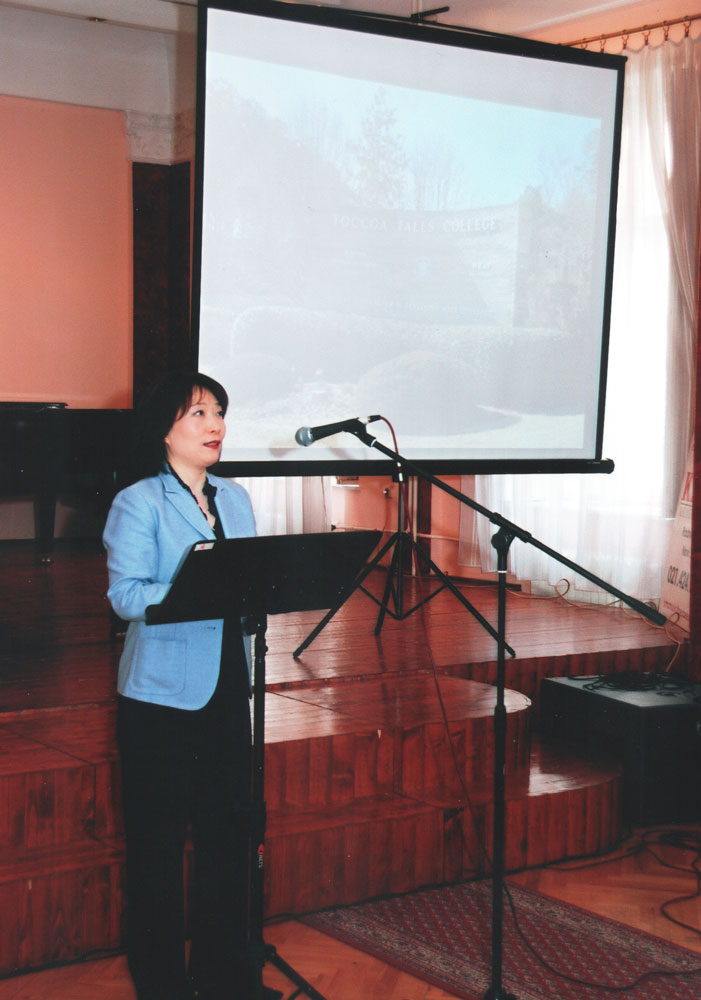Dr Lee in Serbia