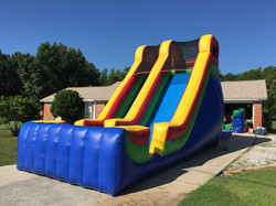 19ft Multicolor Slide