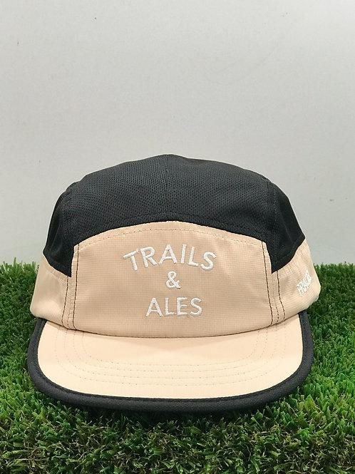 Trails & Ales x Fractel Cap Khaki