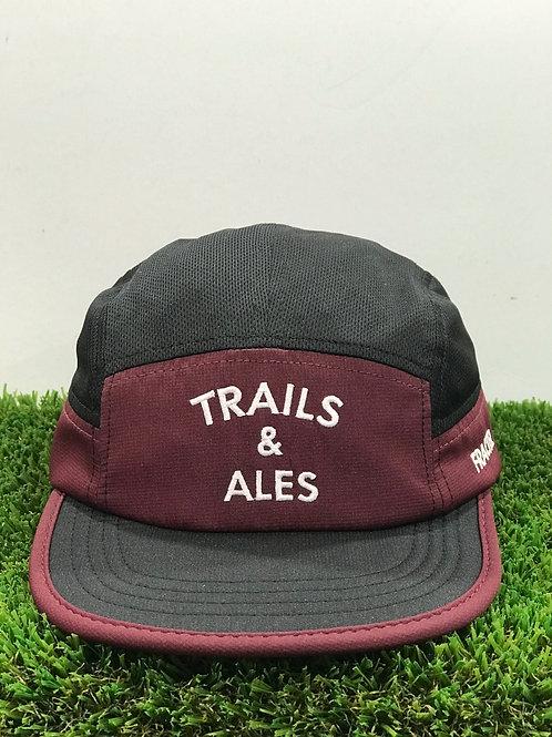 Trails & Ales x Fractel Cap Maroon