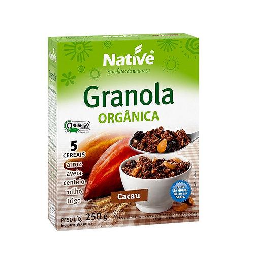 Granola com Cacau Orgânica 250g Native