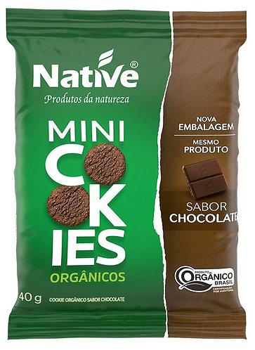 Mini Cookies sabor chocolate 40 g - Native