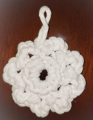 Ecopad 100% algodão flor