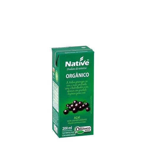 Bebida de Açaí com Guaraná Orgânico 200ML Native