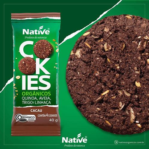 Cookies Cacau, Quinoa, Aveia, Trigo e Linhaça  40g Native