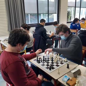 1er championnat du club échecs
