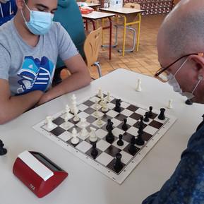 Deuxième tournoi d'échecs