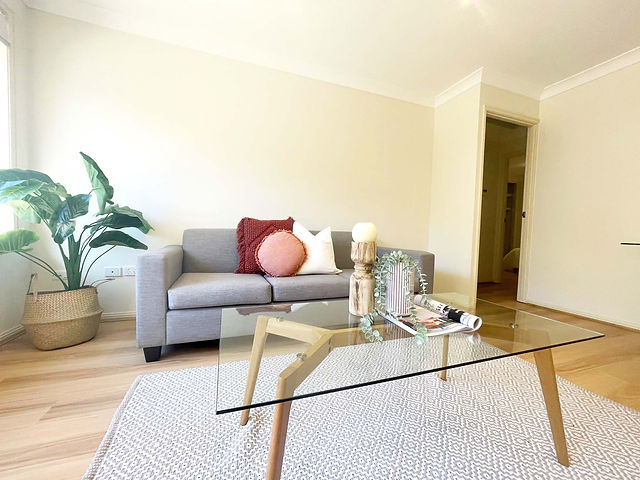 Lounge Room Styling - Property Styling S