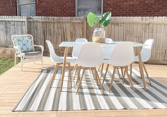 Outdoor styling Sydney. Property styling your outdoor alfresco area.