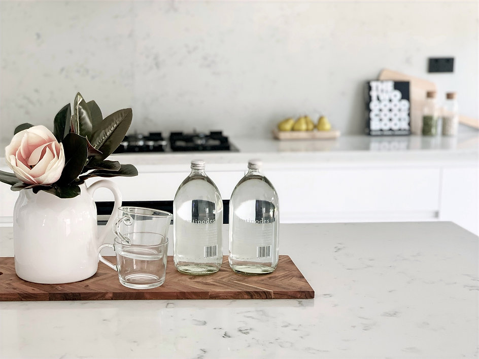 Kitchen styling at Beverly Hills NSW property styling and home staging. Home Styling Proce