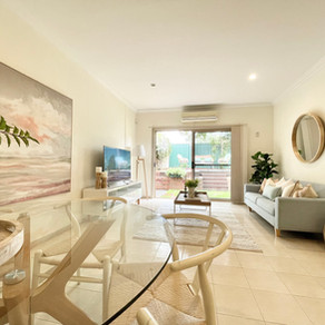 Home Staging @ Merrylands NSW 2160. Take a peek inside this beautifully presented & styled duplex.