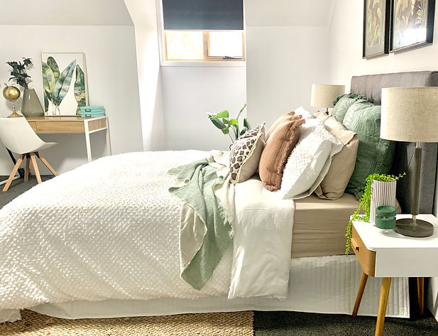 Bedroom property styling