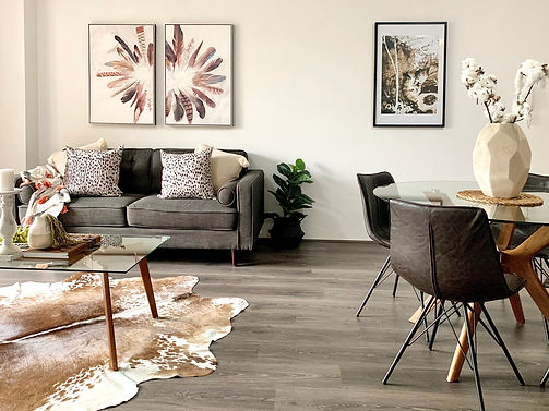 Lounge room property styling Sydney