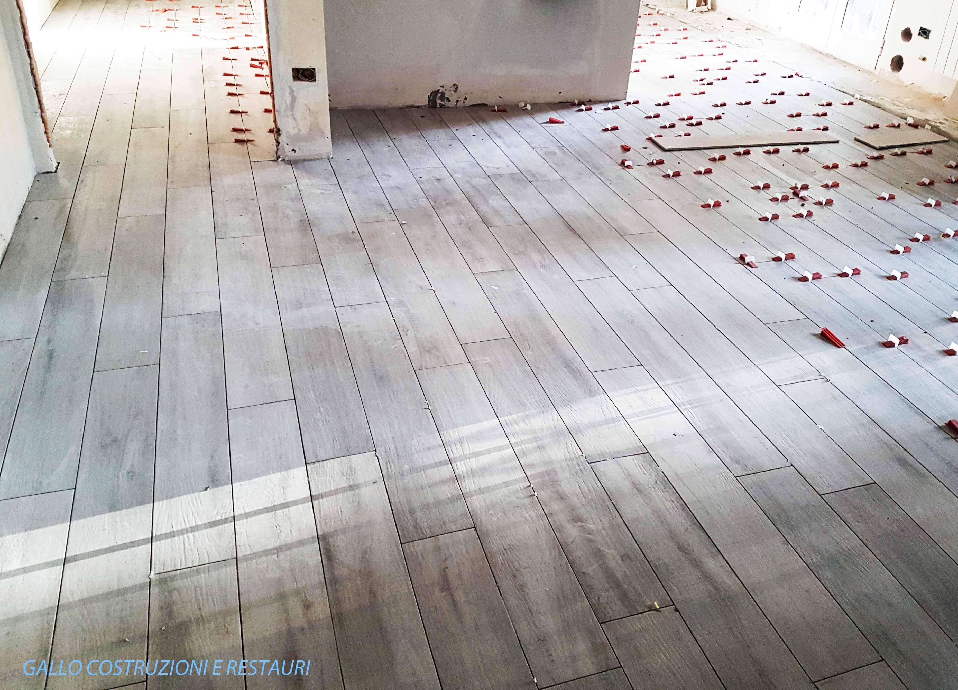 Pavimento in grès porcellanato
