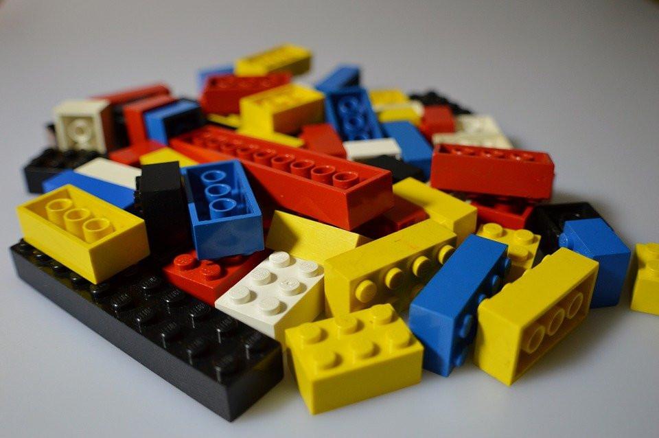 Lego, Los Niños, Juguetes, Colorido, Jugar