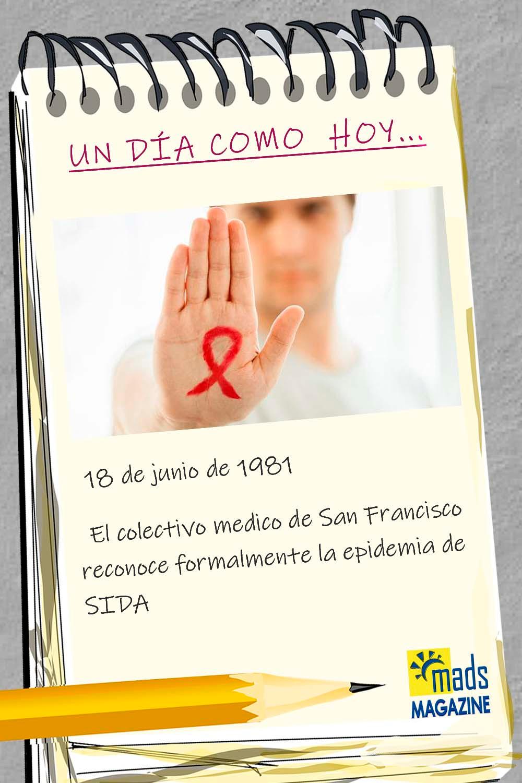¿Sabías que el 18 de junio los médicos de San Francisco alertaron sobre la primera epidemia de SIDA? ¿Sigue el VIH siendo una pandemia 40 años después?
