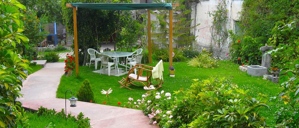El jardín tranquilo