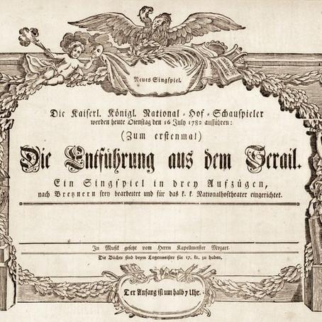 El Rapto en el Serrallo de Mozart. Parte 2. Un vistazo a las 3 arias de  Konstanze.