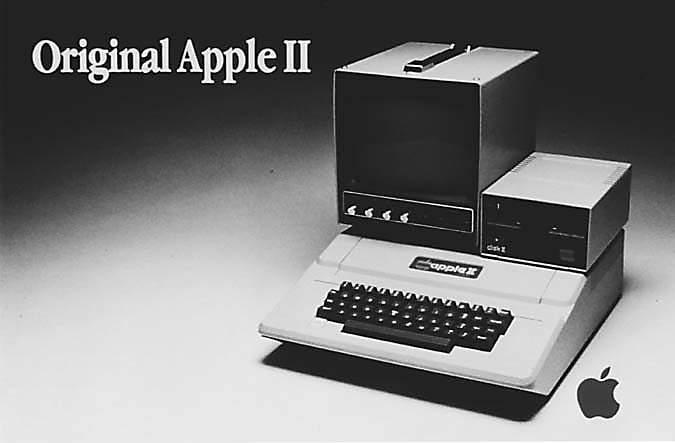 El modelo de Apple II
