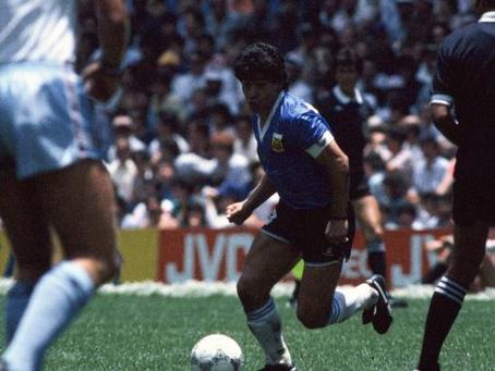 El mejor gol de la historia. Maradona en el mundial del 86