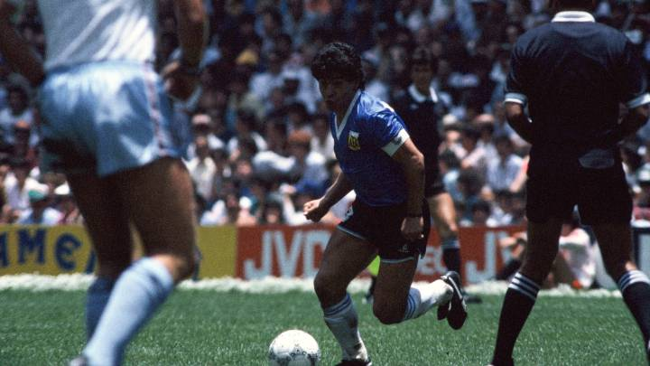 El gol de Maradona es considerado por muchos el mejor gol de la historia. ¡No te lo pierdas!