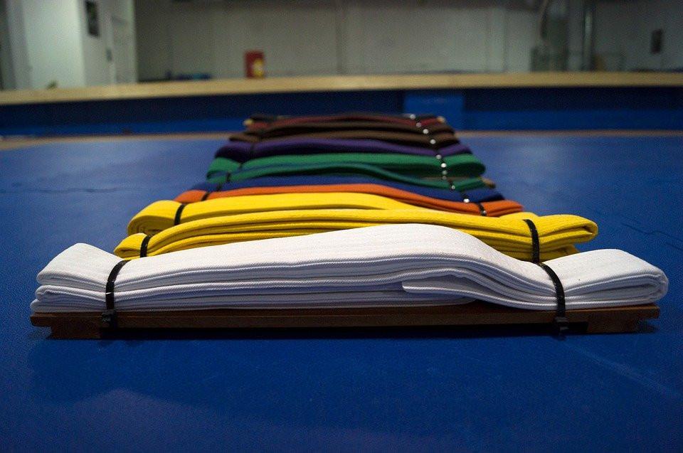 Cinturones, Colores, Artes Marciales, Karate