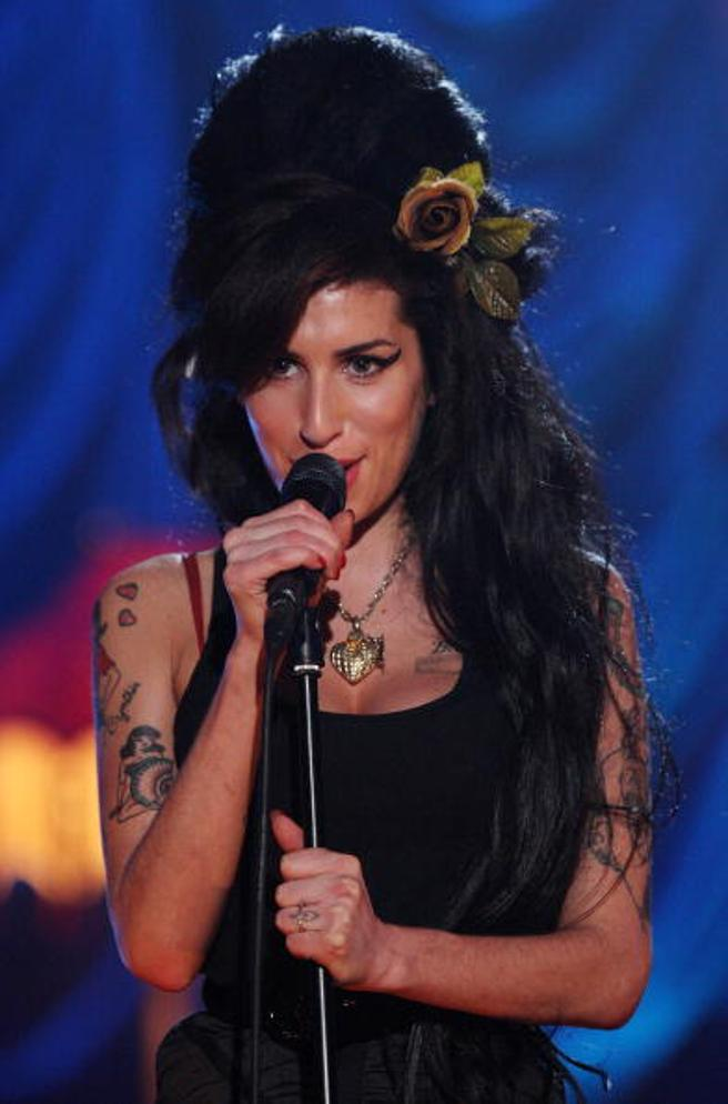 Los tatuajes y el peinado beehive, señas de identidad de Amy Winehouse