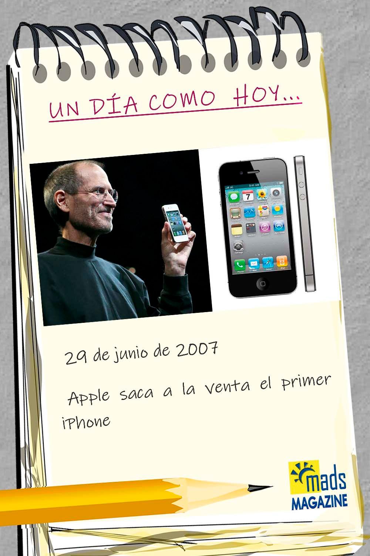 ¿Sabes que el 29 de junio de 2007 Apple lanzó el primer iPhone? ¿Recuerdas cómo era nuestra vida antes de él? Sin duda ha cambado el mundo para siempre