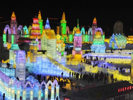 Espectacular festival de nieve y hielo en China
