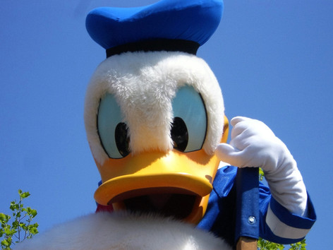 Eres fan del pato Donald