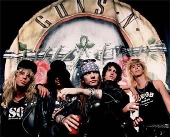 Axel y Slash. Iconos Pop