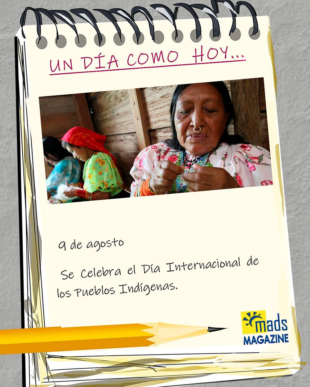 El 9 de agosto se celebra el Día Internacional de los Pueblos Indígenas