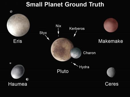 Nix e Hydra, las lunas de Plutón