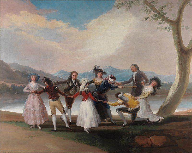 La-gallina-ciega.-Francisco-de-Goya.
