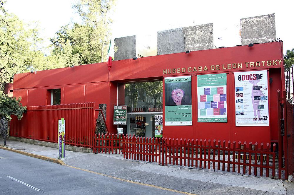 ¿Sabías que puedes visitar la casa museo de León Trotski en México?