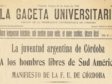 Detalles curiosos que seguro no sabías de la reforma universitaria de Córdoba