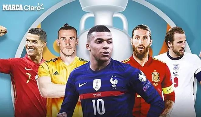 Los jugadores que más partidos han jugado de la Eurocopa