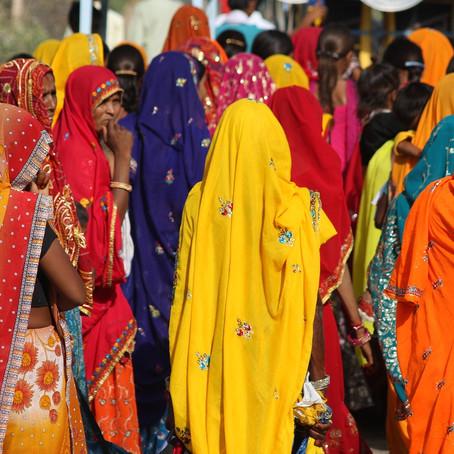 El Sari irrumpe en la alfombra roja