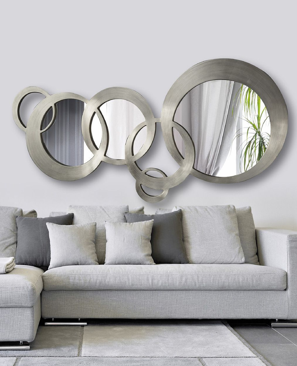 Resultado de imagen para decoracion con cristal y espejos