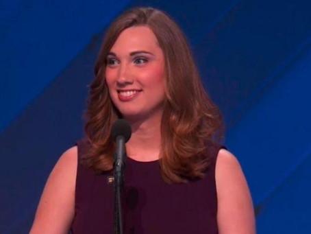 Sarah McBride, la primera senadora transexual de Estados Unidos