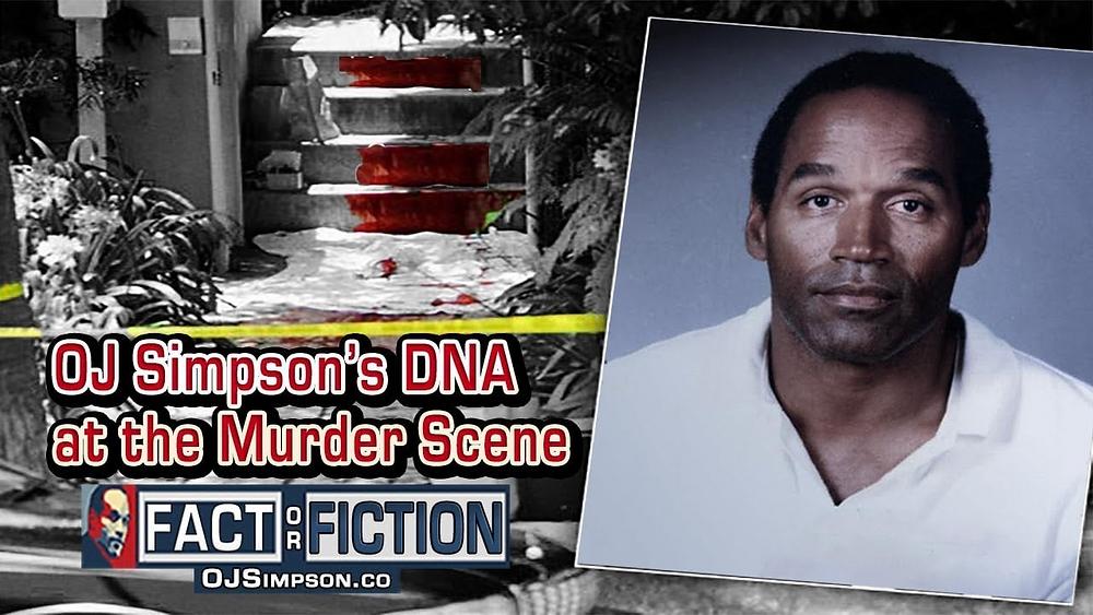 El ADN de OJ Simpson estaba por todas partes, claramente demostrando que había estado allí. Pero... ¿cuándo?